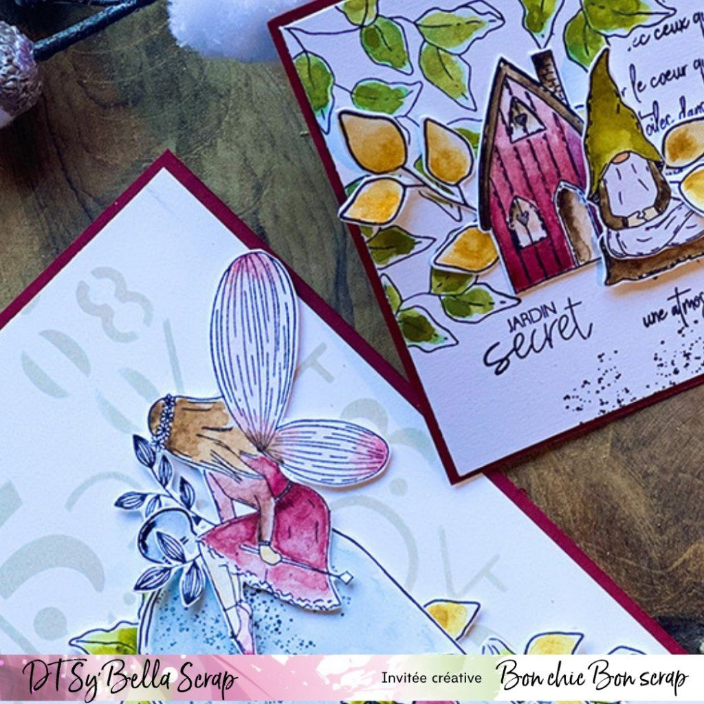 "DUO DE CARTES EN ""ESPRIT COTTAGE"" PAR PHILIPPINE !"