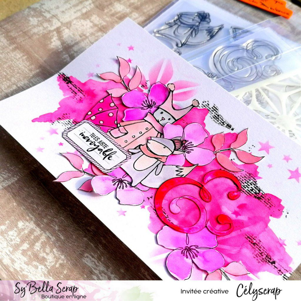 CARTE OCTOBRE ROSE PAR CELIE