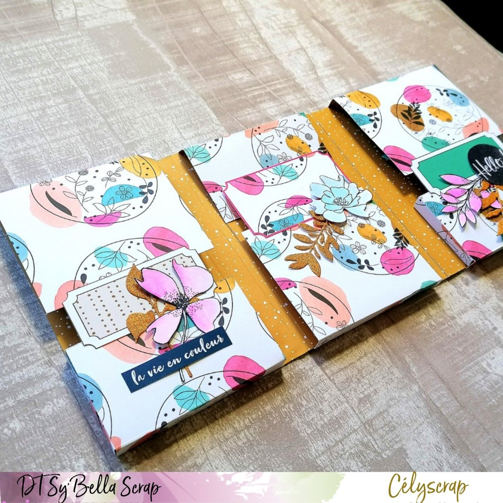 "UN FLIPBOOK TRES COLORE AVEC LA COLLECTION ""LIFE IN COLOR"" AVEC NOTRE CREATIVE CELIE"
