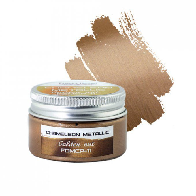 METALLIC CAMELEON PAINT GOLDEN NUT