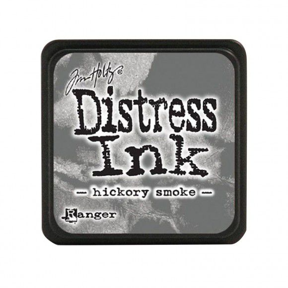 Encre MINI PAD DISTRESS INK HICKORY SMOKE
