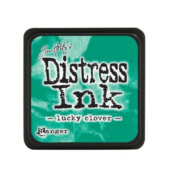 Encre MINI PAD DISTRESS INK LUCKY CLOVER